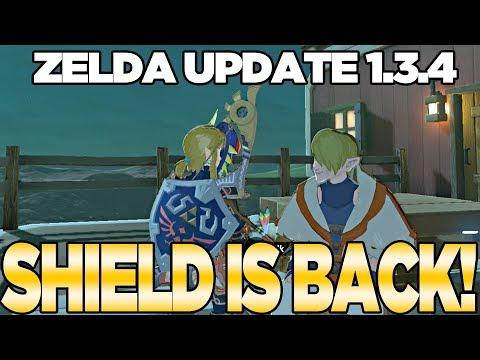 Zelda Update 1.3.4... THE HYLIAN SHIELD IS BACK! Breath of the Wild | Austin John Plays