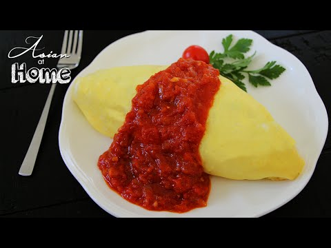 Simple Omurice Recipe (Omelet Wrapped Rice)