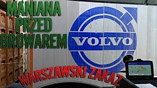 Maniana przed browarem | Warszawski zakaz | KrychuTIR™