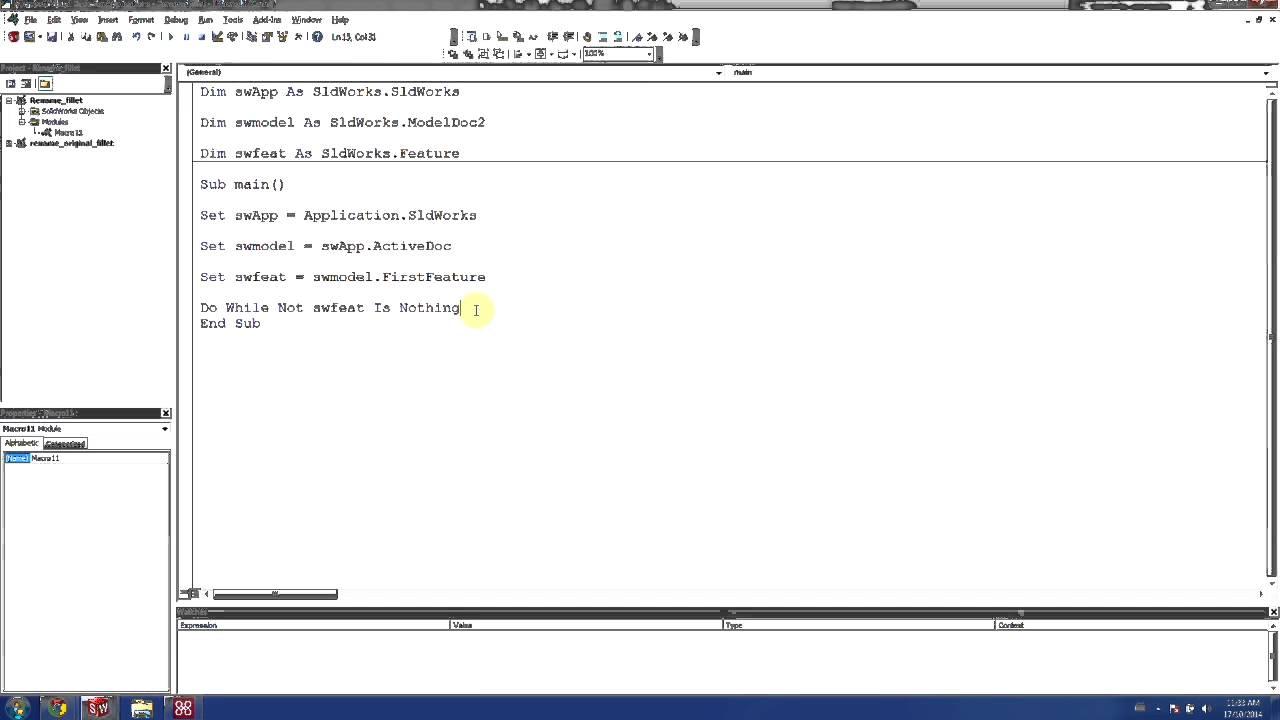 solidworks part number generator macro