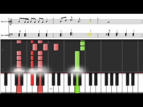 Piano tutorial. How to play Raise Your Glass by Pink. Music sheets
