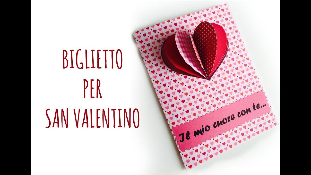 Card biglietto di san valentino festa della mamma scrapbooking arte per te youtube - Decori per san valentino ...