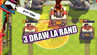 3 Draw la rand + Chest Opening | Clash Royale Romania