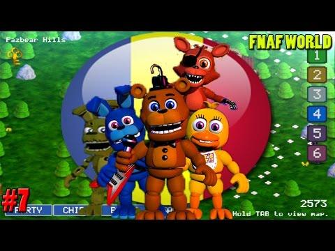 Eugen e copilas - FNAF World [Ep.7] [Habar n-am + Springtrap!!]