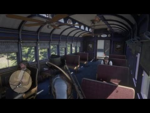 Red Dead Redemption 2 Horse Hit by Train