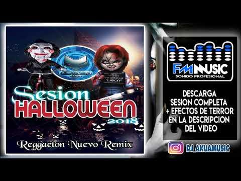 DJ Akua Sesión🎃Halloween🎃 ♫ Reggaeton octubre 2018 ♫