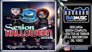 DJ Akua Sesión Halloween ♫ Reggaeton octubre 2018 ♫