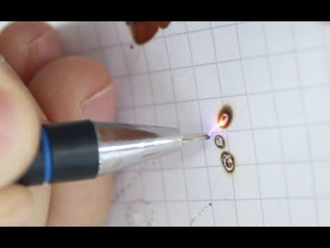 How to make a Plasma / Arc Pen  10000 WATT !!!!