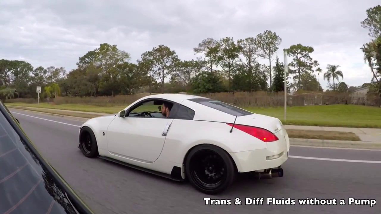 350z clutch fluid change