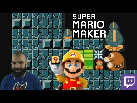 KAIZOS & SUBIDORANS | Mario Maker | PACO Plays Twitch Viewer Levels