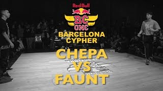 Chepa VS Faunt - Top16 - Red Bull BC ONE Barcelona Cypher 2015