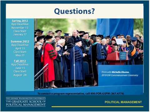 Political Management Informational Webinar