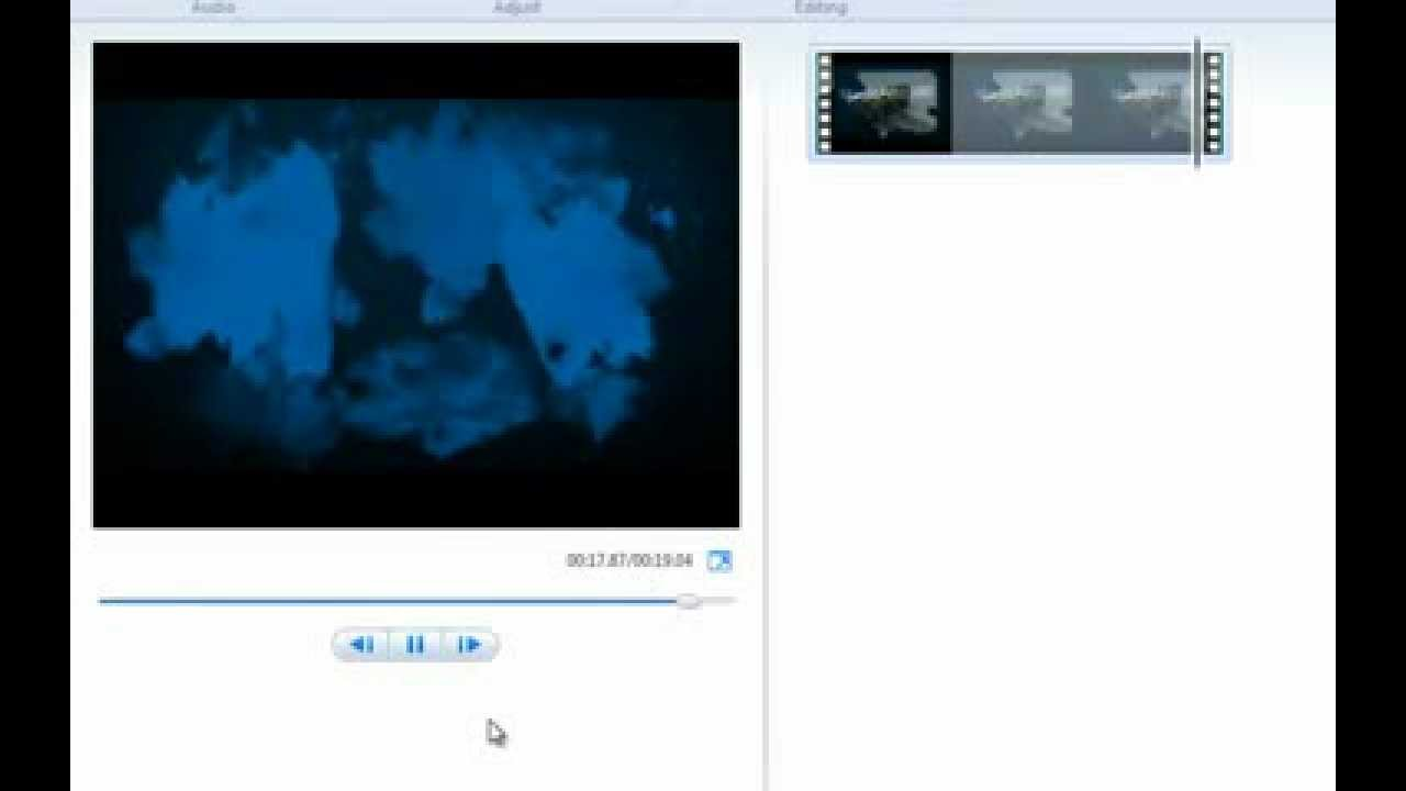 How To Remove Animoto Logo With Windows Live Movie Maker