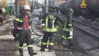 Incidente ferroviario Viareggio 2009 - Travaso Video 2