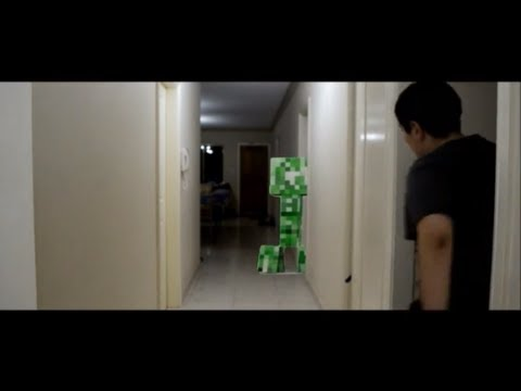 Minecraft Creeper Attack In Real Life Short Film Youtube