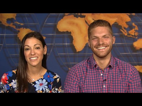 "Interview with winners of ""Amazing Race"""