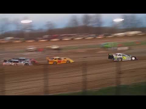 Late Model Heat 1 Fayette County Speedway 4/17/18
