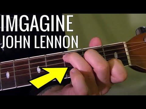 Imagine John Lennon Easy Guitar Lesson Youtube