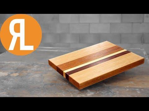 DIY Cutting Board From Scrap Wood | Woodworking