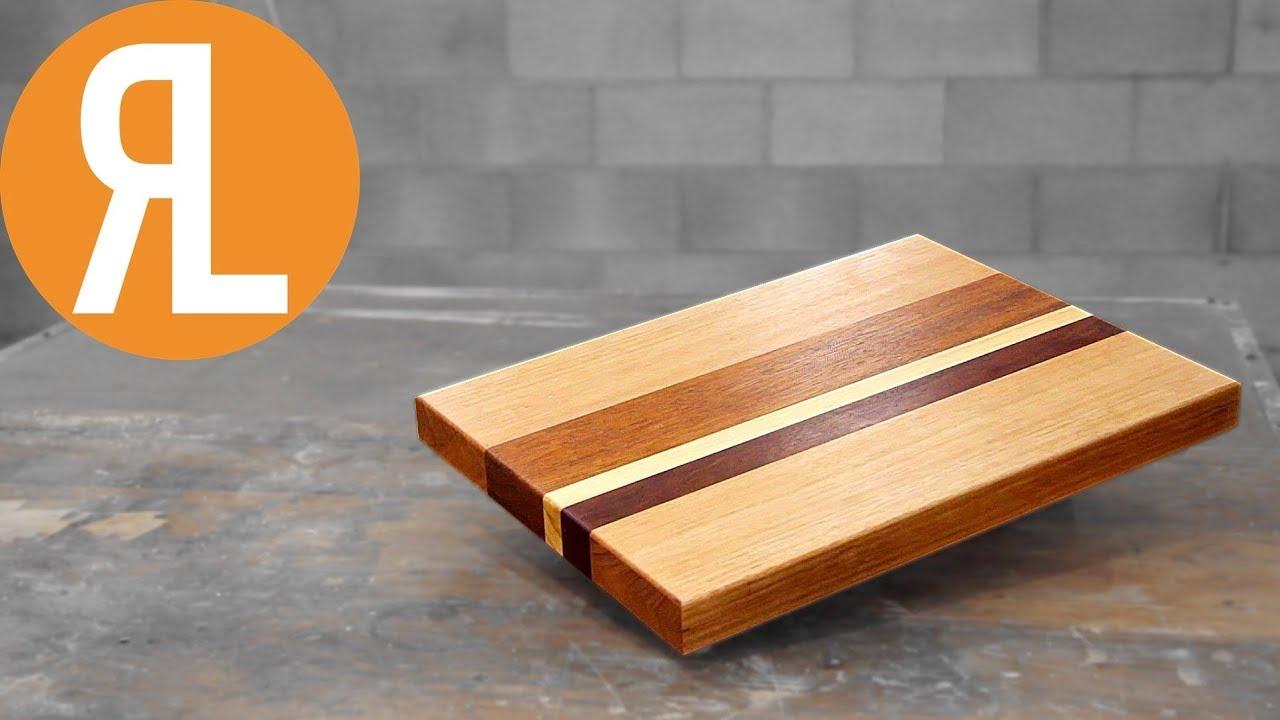 diy cutting board from hardwood scraps youtube