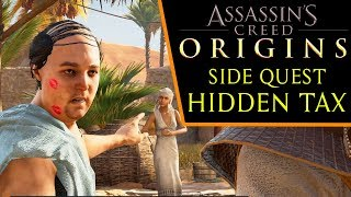 Assassin's Creed: Origins - Hidden Tax (side quest)