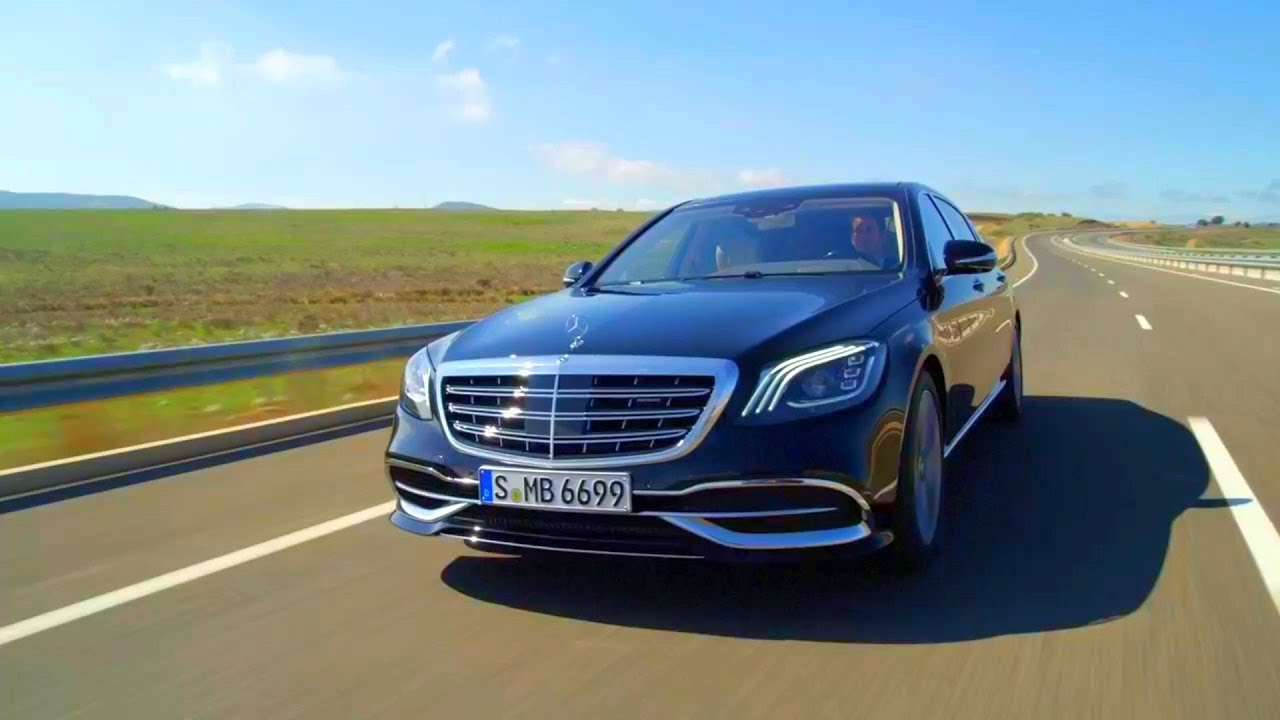 2018 mercedes-maybach s 650 road trailer - youtube