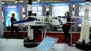 Coast Guard CG775 at display in Defexpo 2014