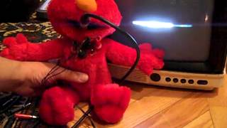 Elmo circuit bent asThMatic techno steampunk chiptune dub toy synth visual modified