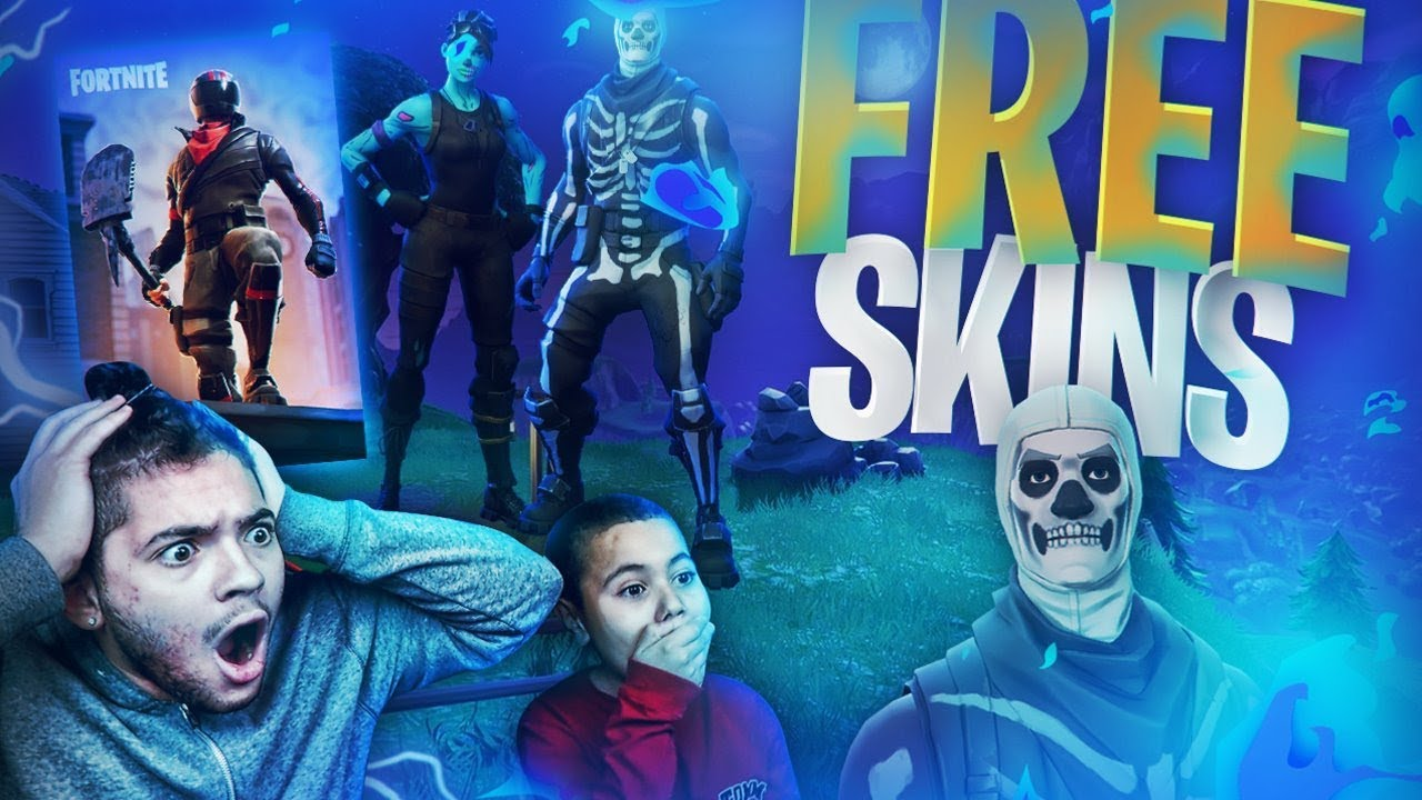 OMG *FREE* HOW TO GET ANY SKIN EVER IN FORTNITE! VBUCKS ...