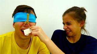 Видео челлендж от Вики и Фёдора: Угадай вкус!