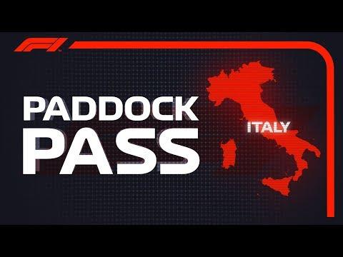 F1 Paddock Pass: Pre-Race At The 2018 Italian Grand Prix