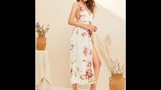 Модные цветочные платья 2019