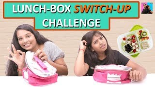 LUNCH Box SWITCH UP Challenge l  #schoollife l Ayu And Anu Twin Sisters