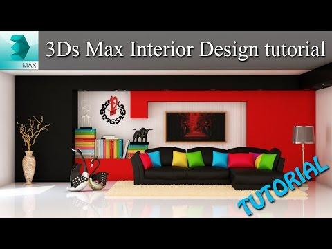 3ds max interior design tutorial 3dsmax