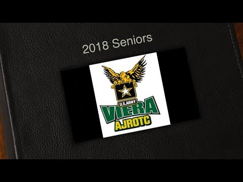 Viera High School JROTC Senior Class of 2018