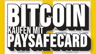 BITCOIN ANONYM mit PAYSAFECARD KAUFEN! - Über Cryptovoucher.io & MMOGA.de | Test + Fazit