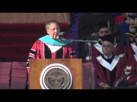 Leon Panetta's Santa Clara University Commencement Speech