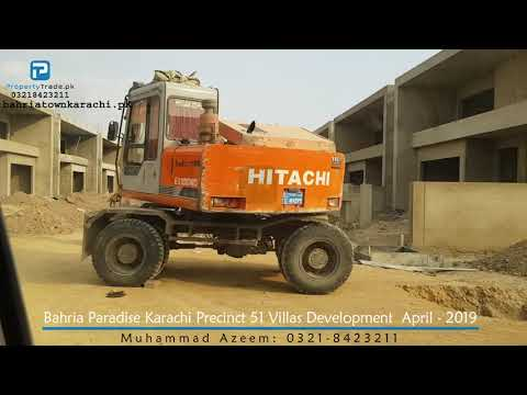 Bahria Paradise Villas Development April-2019 | Bahria Town Karachi | Property Trade