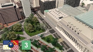 Cities: Skylines - Terminus Station, Transportation Hub & Offices [Belvedere, Ep. 3]