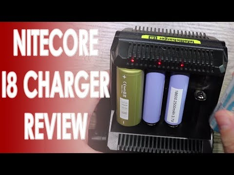 Nitecore I8 Charger Review ✌️🚭