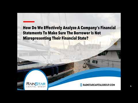 How to make sure a Borrower doesnt misrepresent their Financials