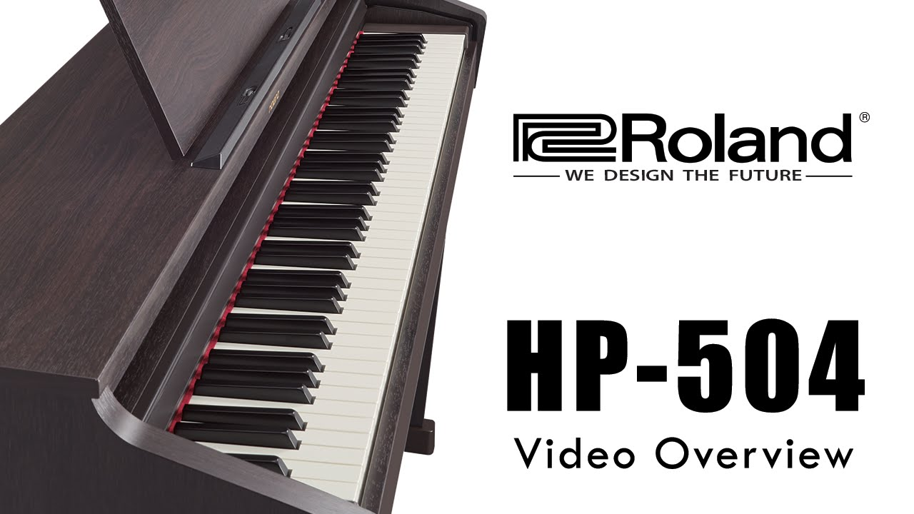 roland hp 504 video overview 2016 discontinued youtube. Black Bedroom Furniture Sets. Home Design Ideas