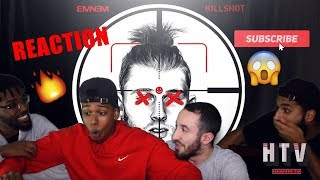 KILLSHOT - EMINEM (MGK DISS TRACK) REACTION/REVIEW *REST IN PEACE*