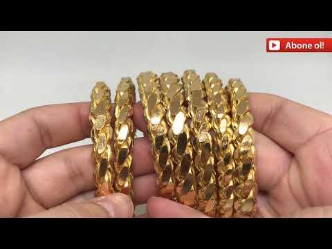 22 AYAR BURMA BİLEZİK 700 GRAM- İŞCİLİKSİZ,YATIRIMLIK- 22K GOLD BRACELET