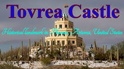 Visiting Tovrea Castle, Historical Landmark in Phoenix, Arizona, United States