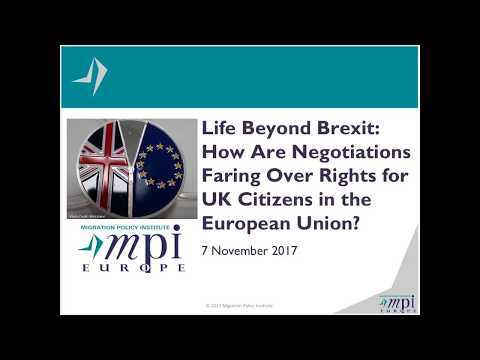 Life Beyond Brexit: How Are Negotiations Faring Over Rights for UK Citizens in the European Union?