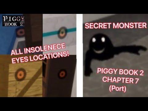 *NEW* SECRET MONSTER IN PIGGY BOOK 2 CHAPTER 7 (Port) | ALL EYE LOCATIONS!