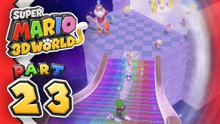 [Replay] Super Mario 3D World: Part 23 - FINALE (4-Player)
