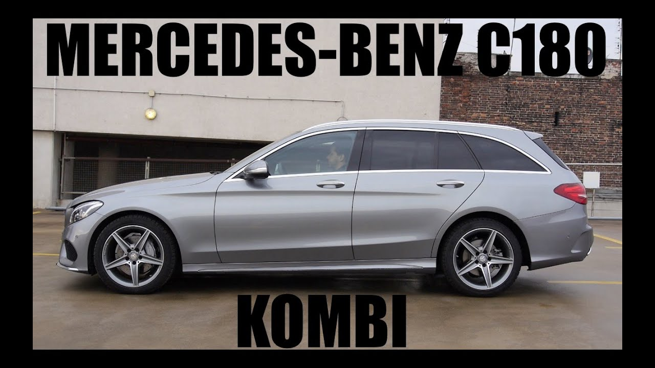 pl mercedes benz c180 kombi test i jazda pr bna youtube. Black Bedroom Furniture Sets. Home Design Ideas