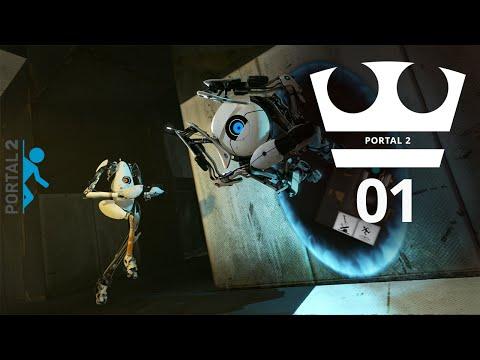 Jirka a Zdeněk Hraje - Portal 2 01 - Učíme se
